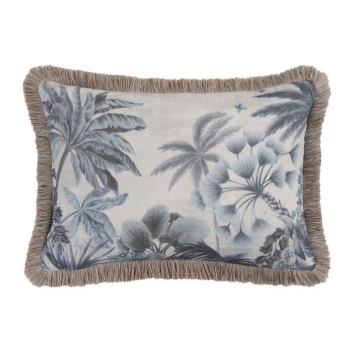 Maison by Rapee Cascade Sapphire Rectangular Cushion  ] 9312798196119 - Flower Power