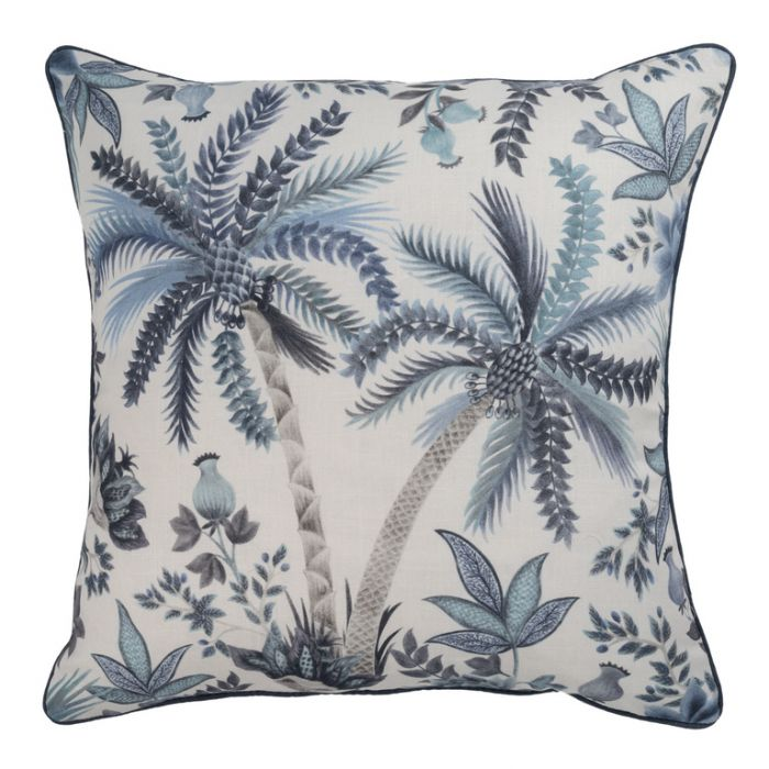 Maison by Rapee Marseille Sapphire Cushion  ] 9312798196157 - Flower Power
