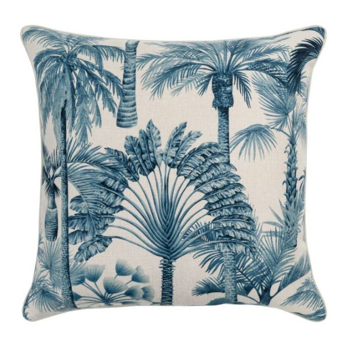 Maison by Rapee St Lucia Navy Outdoor Cushion  ] 9312798199066 - Flower Power