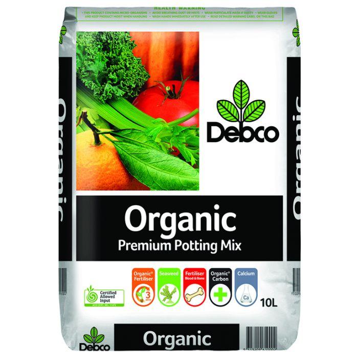 Debco Organic Superior Potting & Planting Mix  ] 9313209610002P - Flower Power