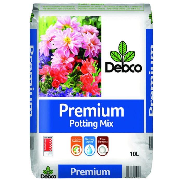 Debco Premium Potting Mix  ] 9313209610347P - Flower Power