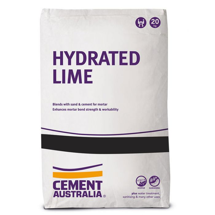 Hydrated Lime 20kg  ] 9317363000273 - Flower Power
