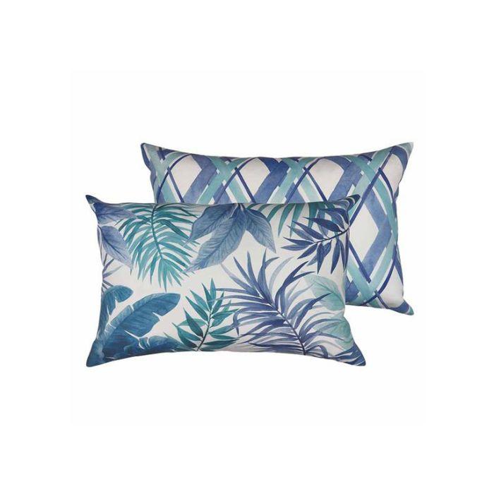 Madras Link Hamilton Lattice Outdoor Cushion  ] 9320947157904 - Flower Power