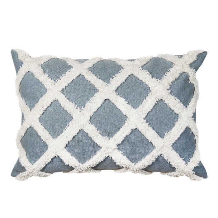 Madras Link Avoca Light Blue Cushion  ] 9320947161321 - Flower Power