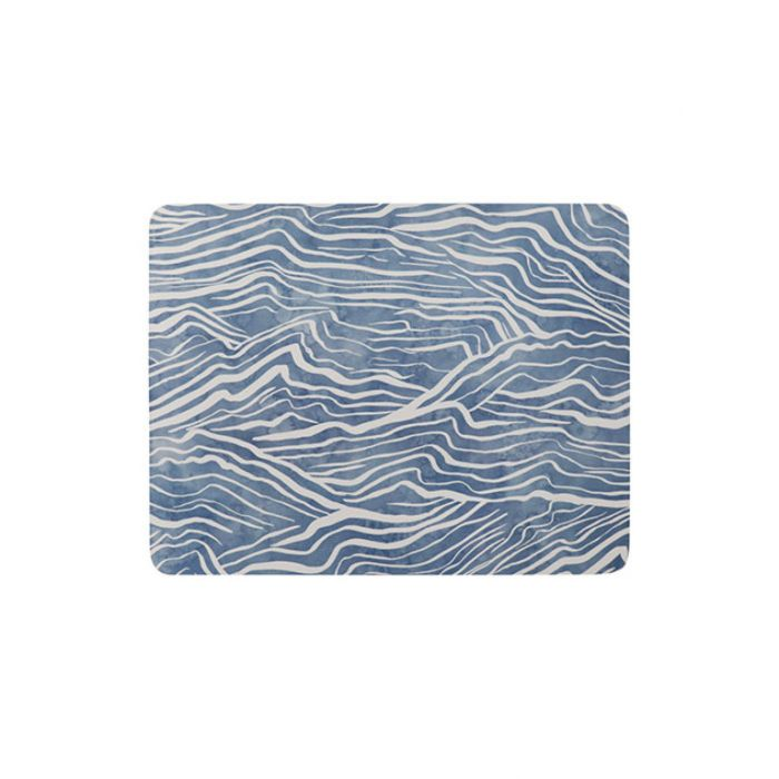 Madras Link Waves Rectangle Placemat  ] 9320947167538 - Flower Power