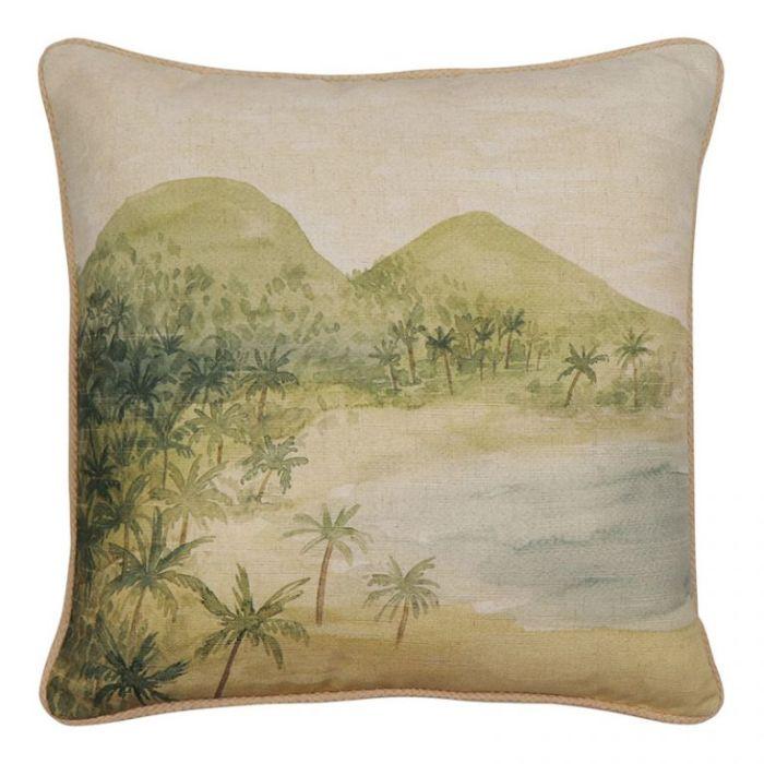 Madras Link Island Cushion  ] 9320947173997 - Flower Power