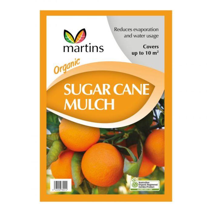 Martins Organic Sugar Cane Mulch  ] 9329107000777 - Flower Power
