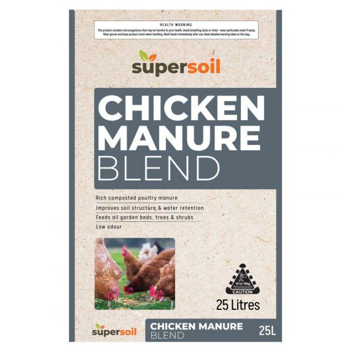 Supersoil Chicken Manure Blend  ] 9329107000890 - Flower Power
