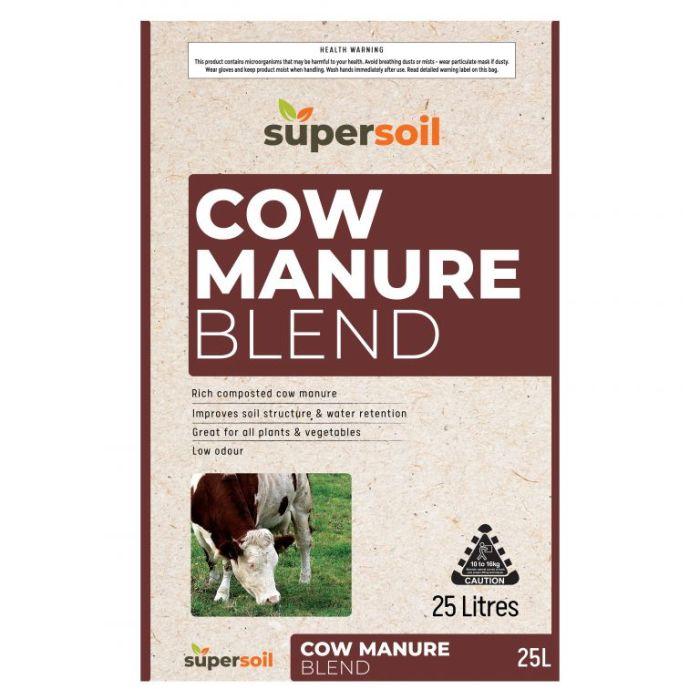 Supersoil Cow Manure Blend  ] 9329107000906 - Flower Power