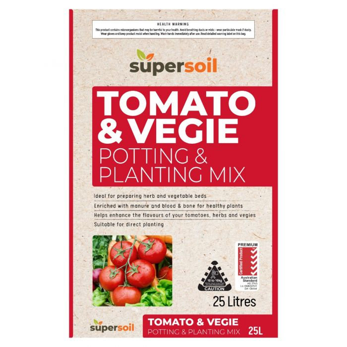 Supersoil Tomato & Vegetable Grow Mix  ] 9329107000968 - Flower Power