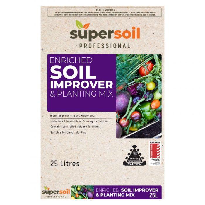 Supersoil Professional Soil Improver & Planting Mix  ] 9329107000982P - Flower Power