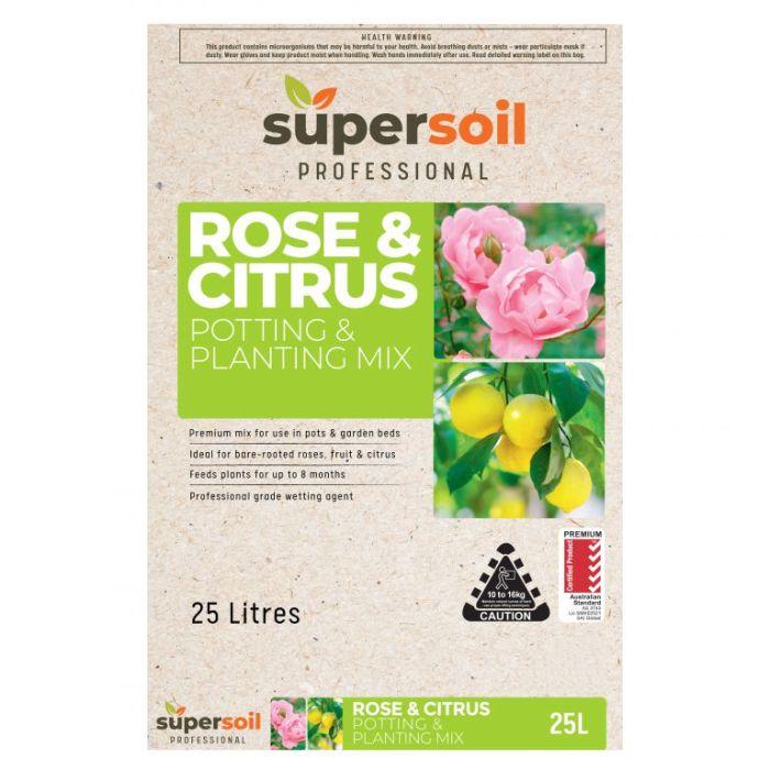 Supersoil Professional Rose & Citrus Potting & Planting Mix  ] 9329107001033 - Flower Power