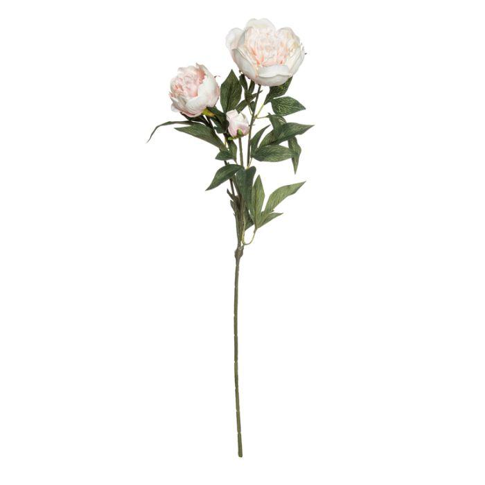 Artificial Peony Spray Pink  ] 9331460184155 - Flower Power
