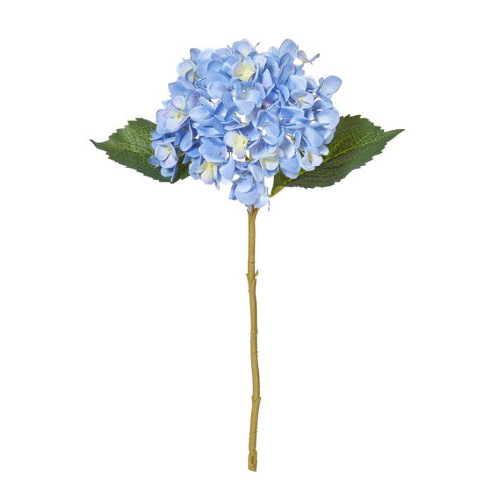 Artificial Hydrangea Stem Blue  ] 9331460251017 - Flower Power