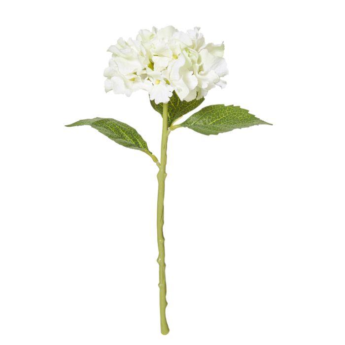 Artificial Hydrangea Pick White  ] 9331460251048 - Flower Power