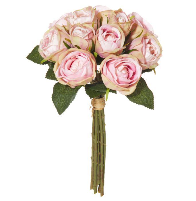 Artificial Bouquet Mini Rose Light Pink  ] 9331460260415 - Flower Power