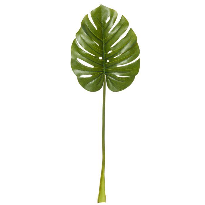 Artificial Leaf Monstera Green  ] 9331460261399 - Flower Power