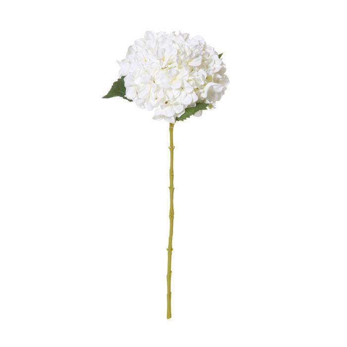 Artificial Hydrangea Stem White  ] 9331460268527 - Flower Power