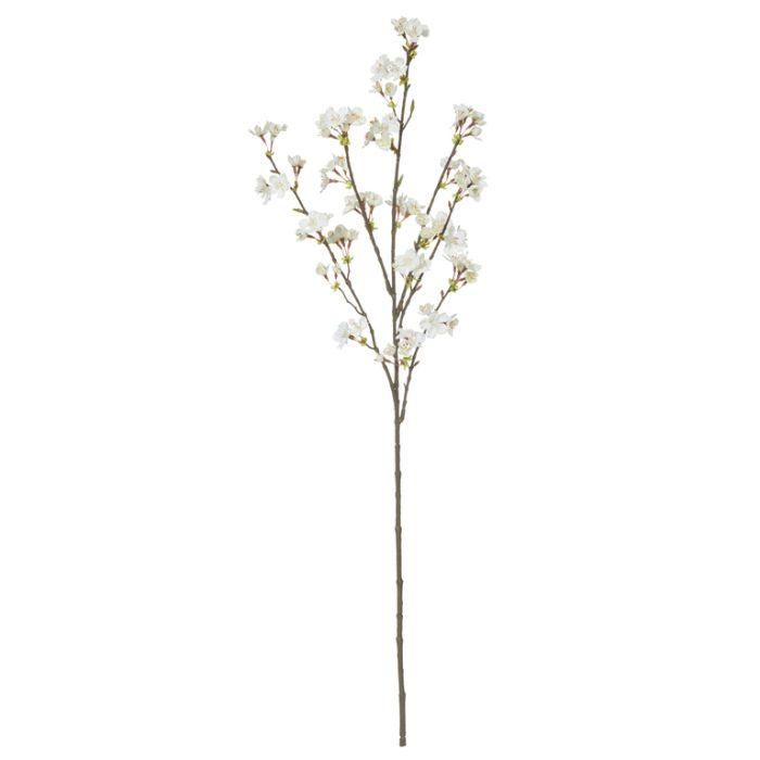 Artificial Cherry Blossom Spray White  ] 9331460277901 - Flower Power