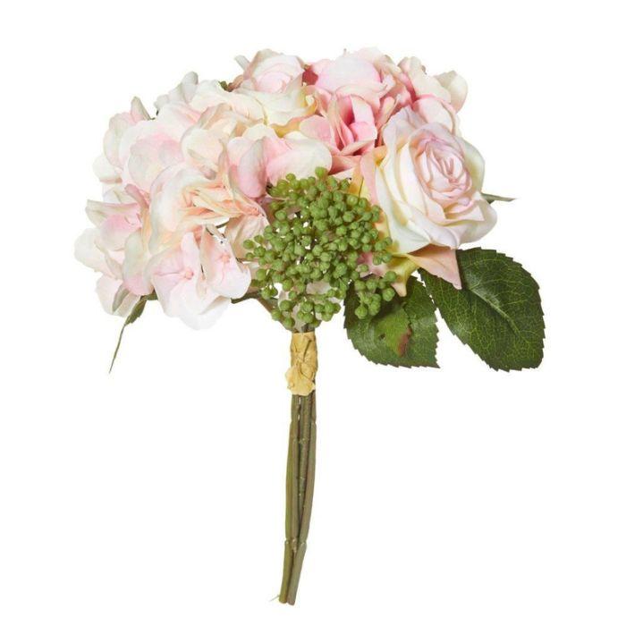 Artificial Rose/Hydrangea Bouquet  ] 9331460285449 - Flower Power