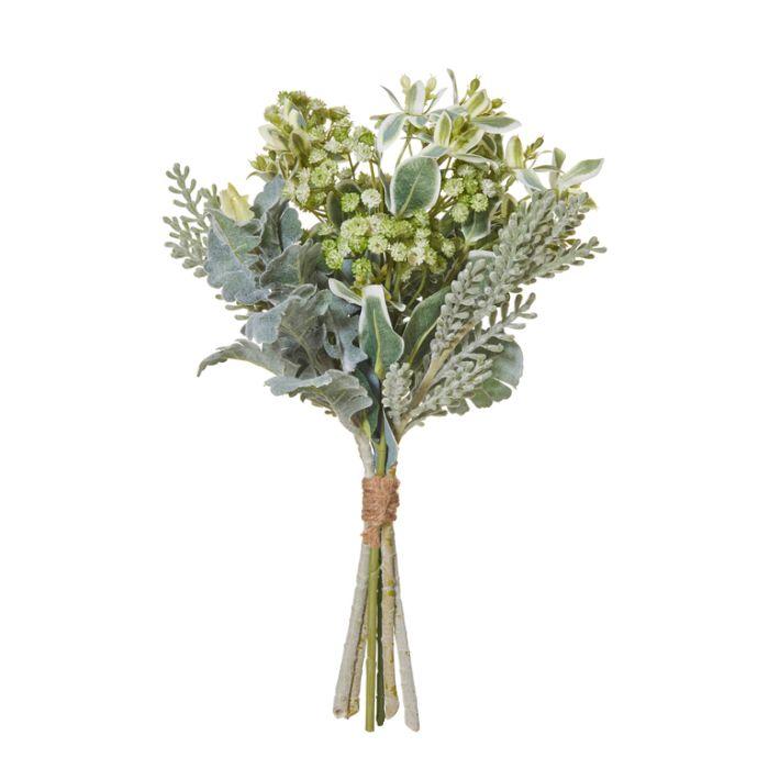Artificial Dusty Miller Mixed Bundle  ] 9331460298258 - Flower Power