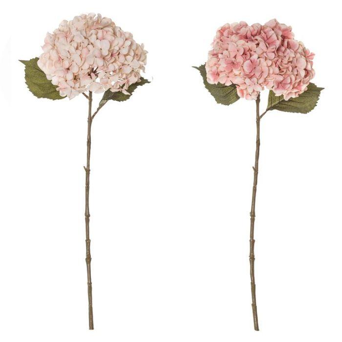 Artificial Hydrangea Stem Pink Assorted  ] 9331460331238 - Flower Power
