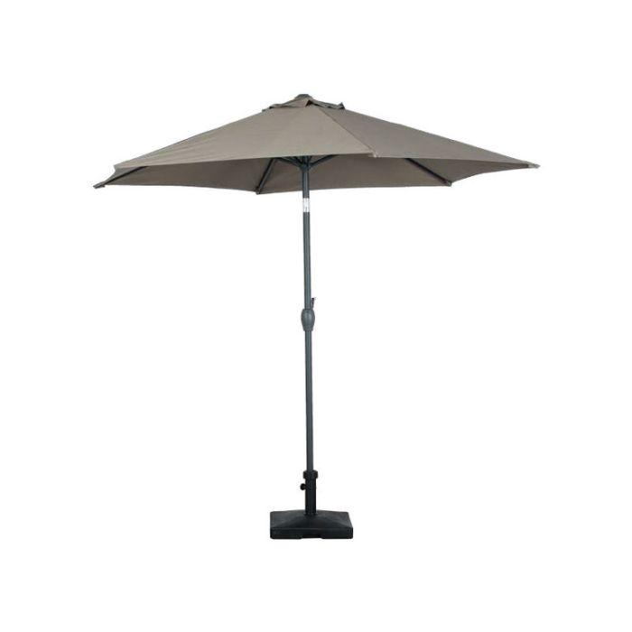 Umbrella Hexagonal Taupe  ] 9333472590788 - Flower Power