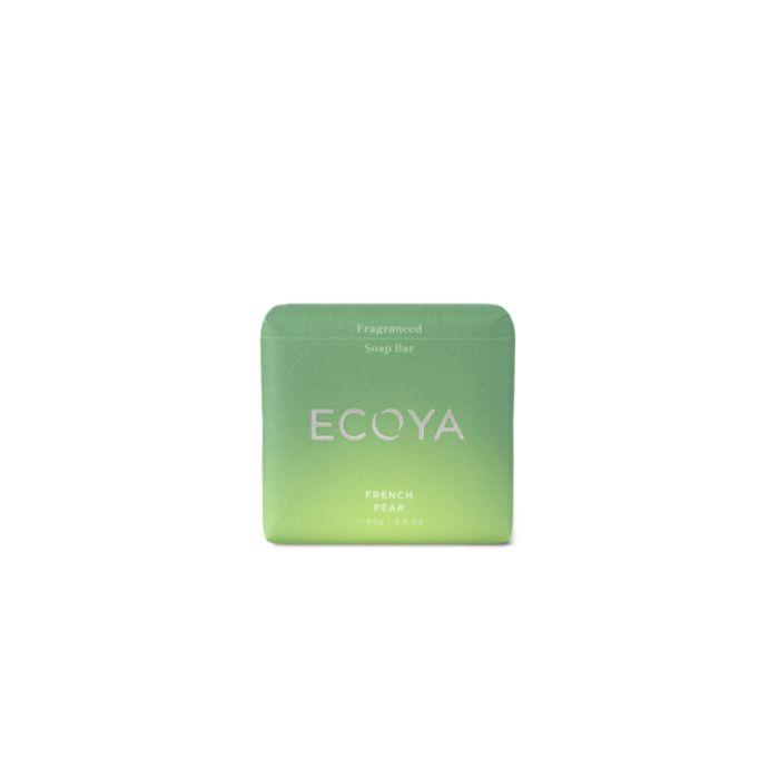 Ecoya Soap Bar French Pear  ] 9336022014505 - Flower Power