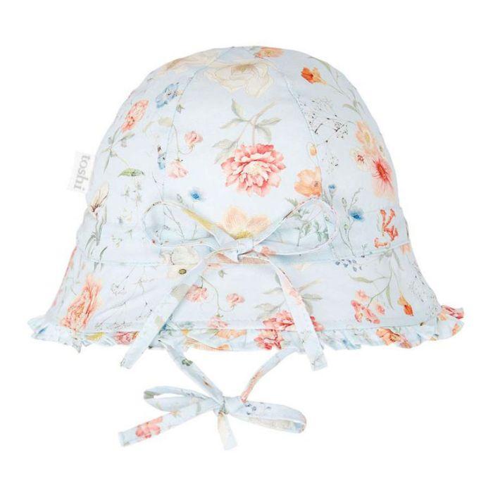 Bell Hat Secret Garden Sky  ] 9336866118056P - Flower Power