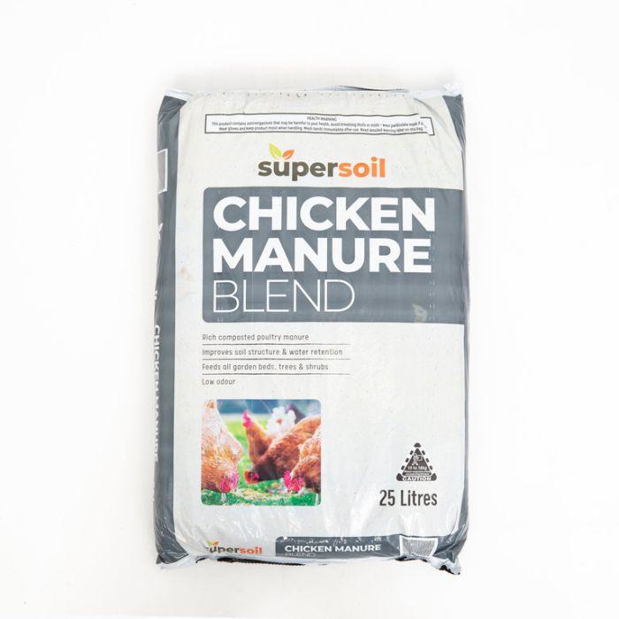 Supersoil Chicken Manure Blend  ] 9338456001670 - Flower Power