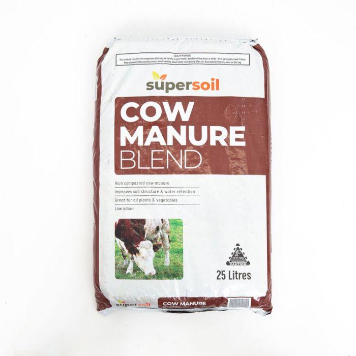 Supersoil Cow Manure Blend  ] 9338456001687 - Flower Power