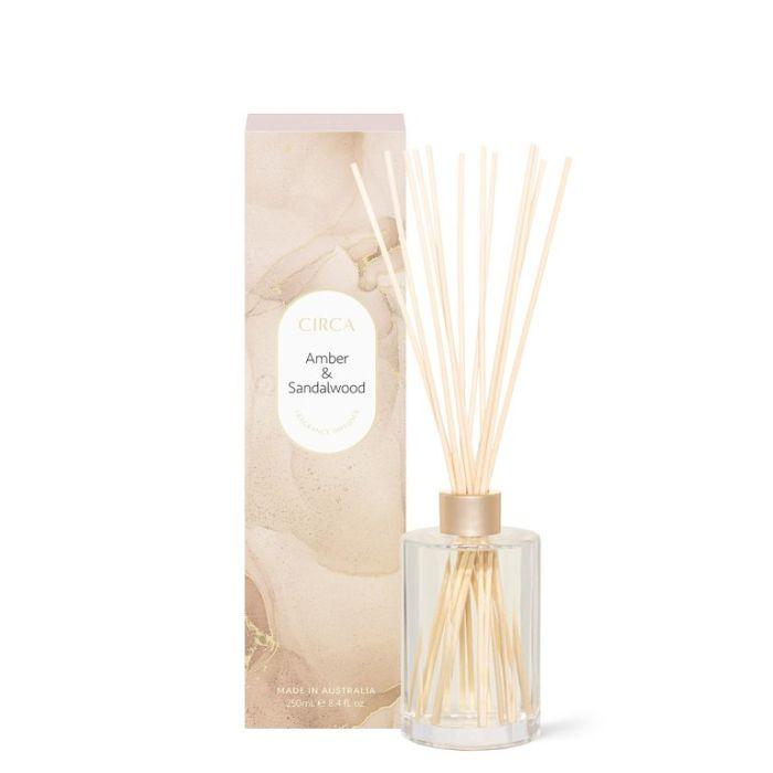 CIRCA Amber & Sandalwood Fragrance Diffuser 250ml  ] 9338817019320 - Flower Power