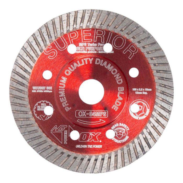 OX Professional Turbo Diamond Blade  ] 9341231002359P - Flower Power