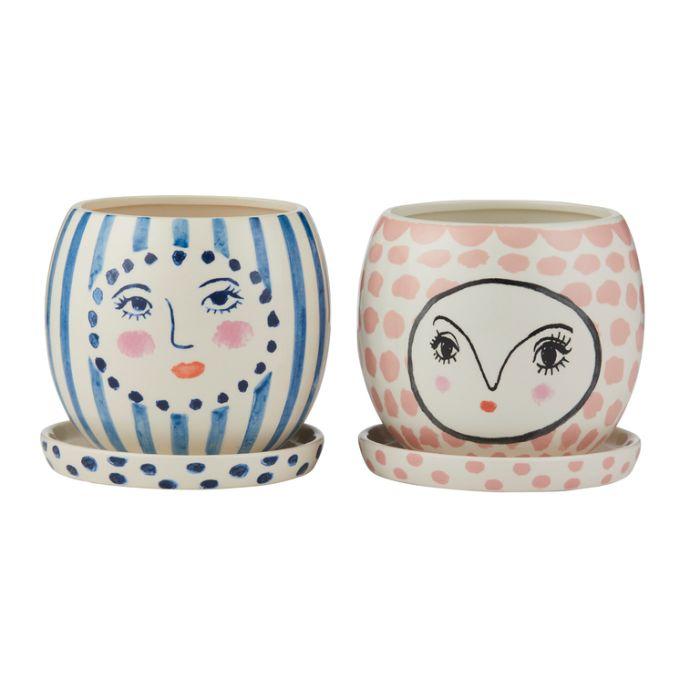Fifi & Fran Face Pot Assorted  ] 9345869209975 - Flower Power