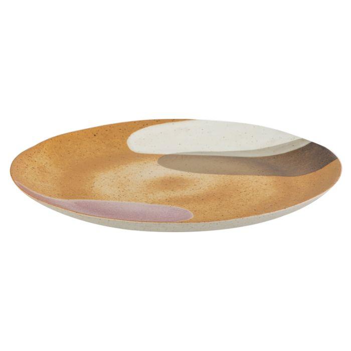Archer Round Serving Plate  ] 9345869232614 - Flower Power