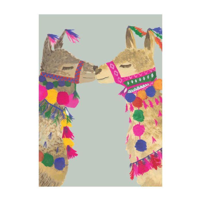 Almanac Gallery Love Llamas Card  ] 9346109048040 - Flower Power