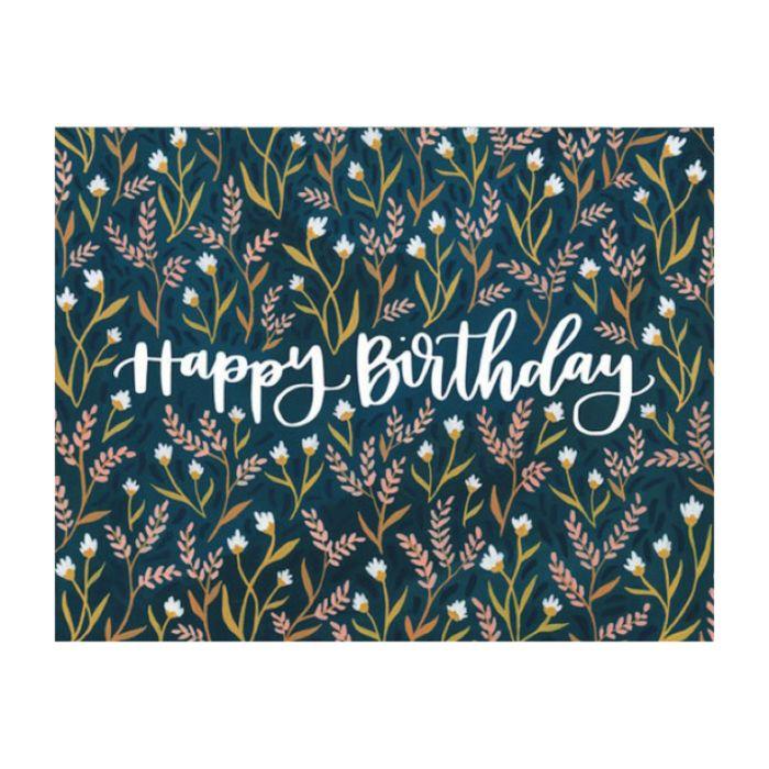 Almanac Gallery Birthday Field Floral Card  ] 9346109048668 - Flower Power