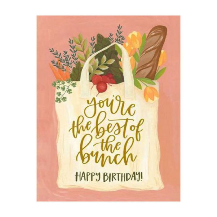 Almanac Gallery Best of The Bunch Birthday Card  ] 9346109049221 - Flower Power