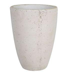 FP Collection Soho Egg Pot White  ] 154071P - Flower Power