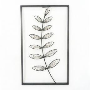FP Collection Botanical Metal Wall Art