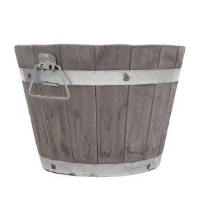 Wine Barrel Round  ] 175322P - Flower Power