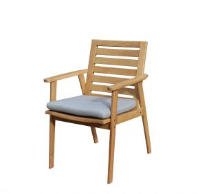 FP Collection Leura Outdoor Dining Timber Chair