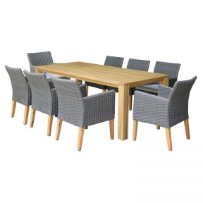 FP Collection Dune Outdoor Dining Chair Natural