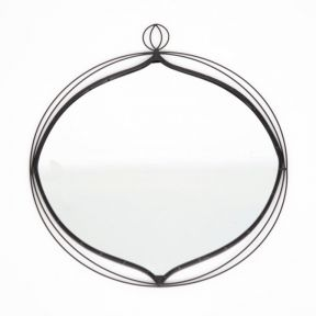 FP Collection Royale Metal Wall Mirror