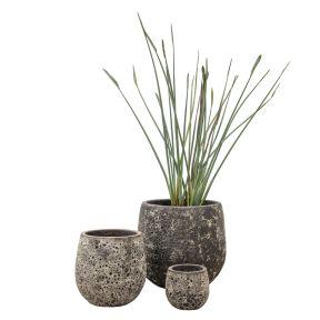FP Collection Tarraco Drum Pot  ] 178351P - Flower Power