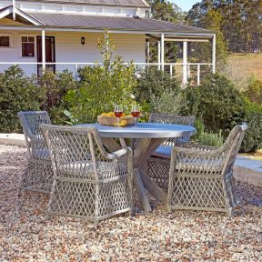 FP Collection Bradshaw Outdoor Dining Chair