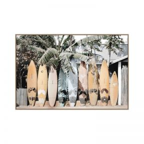 FP Collection Surf's Up Canvas Wall Art
