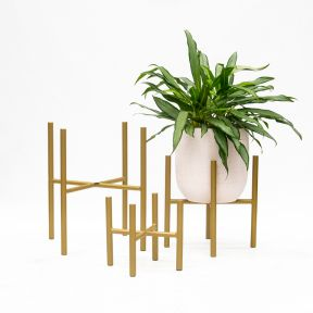 FP Collection Cooper Planter Stand Gold  ] 182147P - Flower Power