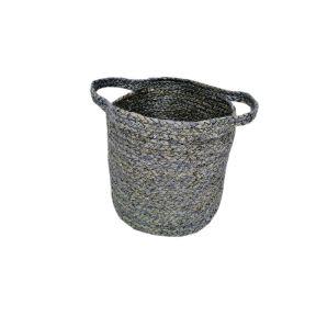 FP Collection Capri Basket Grey Blue