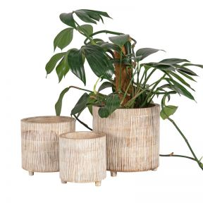 FP Collection Whitehaven Timber Planter  ] 184417P - Flower Power